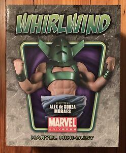WHIRLWIND Mini-Bust Bowen Designs 428/1000 Marvel Avengers Iron Man Villain NEW