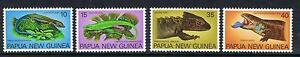 Papua New Guinea 1978 Skinks MNH