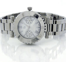 GUESS COLLECTION LADIES SWISS MULTIFUNCTION MOTHER OF PEARL SAPPHIRE I20026L1S