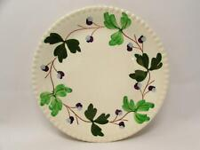 Mountain Ivy by Blue Ridge Southern Pottery Dinner Plate Purple Gray Berries