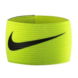Nike Futbol Armband 2.0 Sports Band Soccer/Football Captain Armband Volt/Black