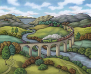 Paul Horton The Flying Scotsman Limited Edition Giclee print
