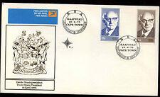 Sudafrica 1975 Presidente Diederichs Fdc Primer Día cubierta #c 13663