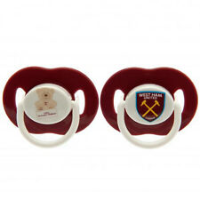 West Ham United F.C - Soothers (2 Pack) - BABY / GIFT
