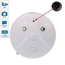 Smoke Detector Cam Hidden Surveillance Security Spy Camera/Recorder DVR + Remote