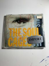 Soul Cages - CD - Import Single-UK - RARE