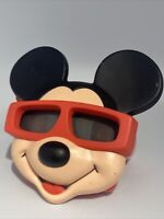 Vintage 1989 Ideal View-Master Mickey Mouse Ears 3D Reel Viewer Walt Disney Co