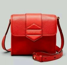 Last 1! Marc Jacobs Leather Flipping Out Satchel Crossbody Shoulder Red M0004767
