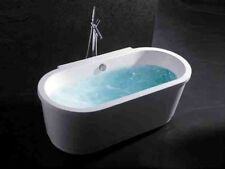 Bathtub Freestanding - Acrylic Bathtub - Soaking Tub - Modern Tub - Nicolo - 65""