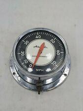 Vintage 50-60's 70mph Airguide Marine Speedometer gauge
