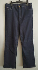 BNWT Ladies Sz 18 Indigo Blue Stretch Denim King Gee Brand Workcool Jeans