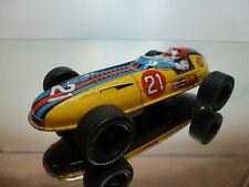 JAPAN TIN TOYS FORMULA 1 RACE CAR #21 STP CHAMPION - L14,5cm - GOOD - FRICTION