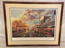 Old Easton Limited Edition Print by Paul McGehee Professionally Framed Matted