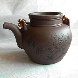 Yixing Teapot 380ml Chinese Zisha tiliang Tea Pots purple sand Mud huangduan