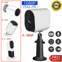 1080P HD Outdoor WiFi IP Camera Wireless Battery Powered PIR Surveillance Webcam