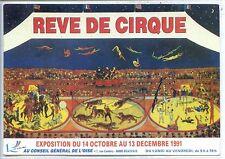 CP - Carte Postale - Rêve de cirque - Exposition 1991 - Oise