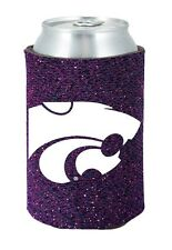 Kansas State Wildcats Glitter Can Coozie [NEW] Holder Koozie Bling Drink Holder