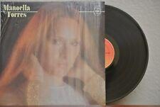 MANOELLA TORRES 1981 A LA QUE VIVE CONTIGO MEXICAN LP POP EN ESPAÑOL