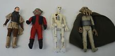 Vintage Star Wars 1983 Leia Organa Boussh/Nien Nuns/8D8/Squid Head Figures
