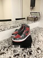 "Air Jordan Retro 1 Mid ""Bred"" Mens Size 10"