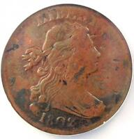 1802 Draped Bust Large Cent 1C S-233 - NGC XF Details - Rare EF Early Date Penny