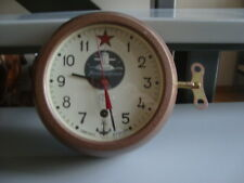 Rare russian navy submarine wall clock VOSTOK
