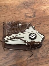 New listing Wilson A950 Baseball / Softball Glove, LH Throw, Gently Used, 12.5 Inch, Adult