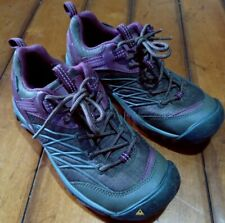 KEEN Women's Dry Waterproof Brown & Purple Hiking Trail Shoes Size US 6.5 EU 37