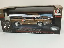 """HIGHWAY 61 1/18 DIE CAST 1966 Oldsmobile Hurst """"Hairy OLds"""" Drag Racer NR"""