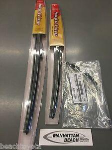 08-15 SCION XB Front & RR Wiper Blade Set NEW genuine Toyota SIGHTLINE Type