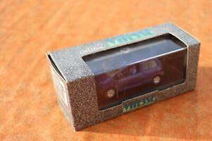 Miniature éch. 1/43ème Renault Twingo de marque Vitesse découvrable fermée bleu