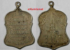 ARGENTINA 1931 CATHEDRAL CONSECRATION MEDAL .San Geronimo Norte, 23 x 39 mm.