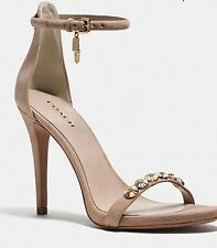 COACH JACKLYN DAISY RIVETS HEEL SHOWS SIZE 6.5 RRP$490