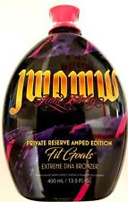 Jwoww Fit Goals Private Reserve Amped Edition Tanning Bed Lotion 13.5 oz Bottle