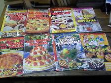 Lot 8 magazines l'art de bien recevoir la cuisine provencale les fruits rouges