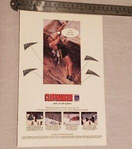 Cliffhanger RARE Video Game Print Advertisement