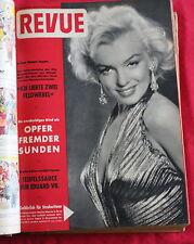 Revue 2. HJ. 1955 * MARILYN MONROE BRIGITTE BARDOT AUDREY HEPBURN SOPHIA LOREN