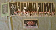 Original Lot of 26 NHL 2015-16 Montreal Canadiens Hockey Postcards Set
