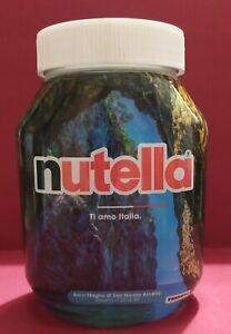 VASETTO NUTELLA FERRERO vuoto 725 g  ARCO MAGNO  CS CALABRIA  limited edition