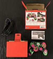Nintendo Switch PowerA Splatoon 2 Wired Controller New Opened Box FAST SHIPPING