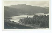Vintage Black & White Photo Postcard of Grassmere & Silver How