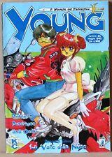 Young il mensile del fantastico 24 - maggio 1996 - rayearth, pendragon, 3x3