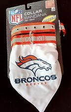 New listing Denver Broncos Nfl Collar Bandana Pet Dog