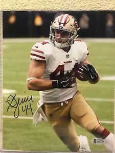 Kyle Juszczyk Signed San Francisco 49ers 8x10 Photo Beckett