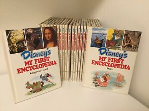 Disney My First Enciclopedia  In Inglese Completa