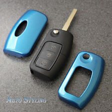 Blue Key Cover Case for Ford Remote Protector Flip Fob Hull 2 3 Button 43dblu