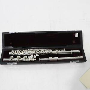 Yamaha Model YFL-784H Artist Solid Silver Flute SN 025505 NEW OLD STOCK