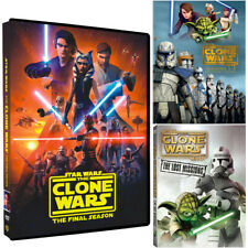 Star Wars : The Clone Wars Season 1-7 Complete Series (DVD, 25-Disc) New Sealed