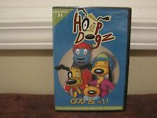 HOOP DOGZ,GOD IS # 1,NEW! DVD ,FAMILY DOVE APPROVED ,CHILDRENS 1ST COMMANDMENT