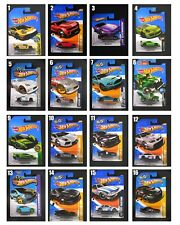Hot Wheels Pick Your choice 2011-2017